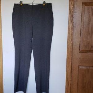 New York & Company gray trousers, sz 16 Tall